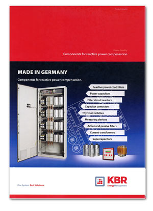 KBR-Catalogue - Components for power compensation